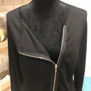White House Black Market Sweaters - NWT White House Black Market Moto Sweater, Sz Lrg